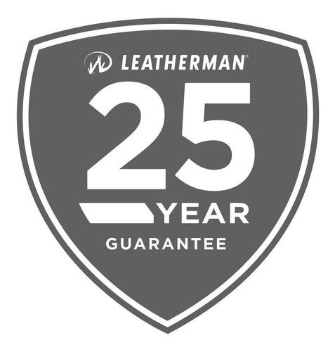 multiherramienta leatherman rebar color acero con funda (lea038)