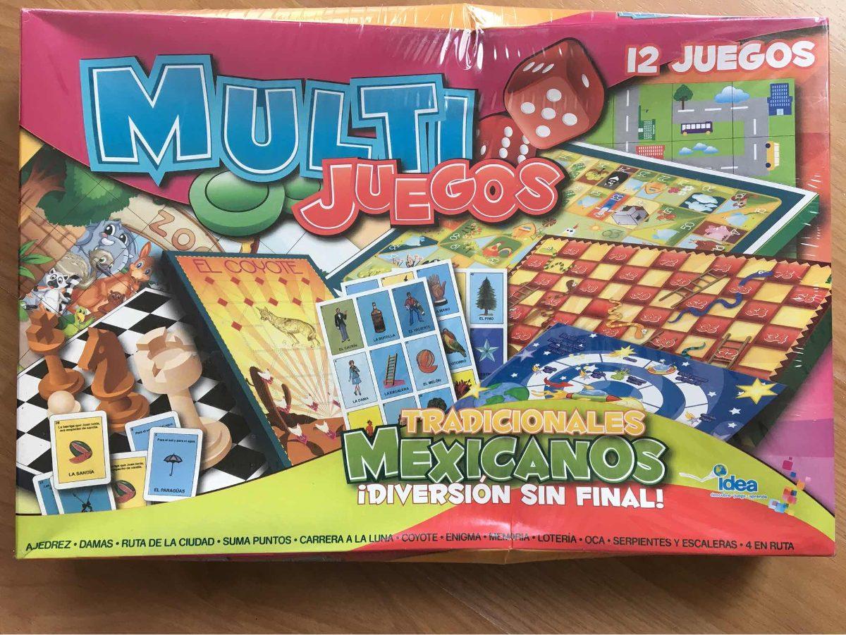Multijuegos 12 Juegos Tradicionales Mexicanos 249 00 En Mercado