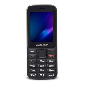 Multilaser Zapp Dual Sim 512 Mb Preto 256 Mb Ram
