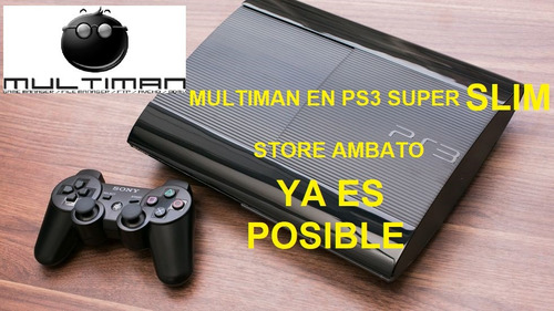 multiman en ps3 super slim instalacion
