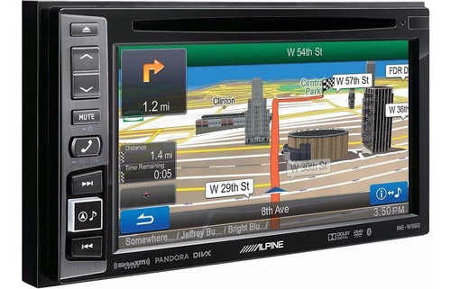 multimedia alpine hd ine w960 doble din 6.1  + gps oferta