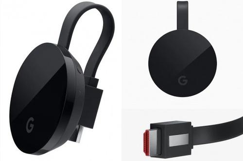 multimedia google chromecast ultra 4k hdmi netflix wifi