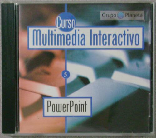 multimedia interactivo. powerpoint cd-rom