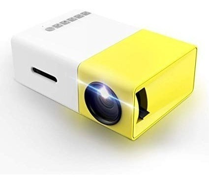 multimedia mini proyector led portátil de 600 lumenes