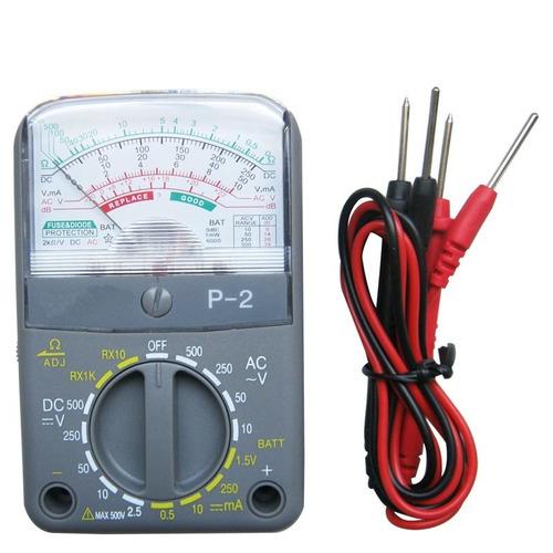 multimetro analogico teste bateria manutenção portatil bolso