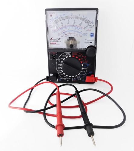 multímetro analógico yx-360tr amperímetro multiteste