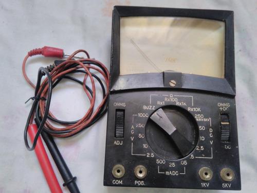 multimetro antigo usado