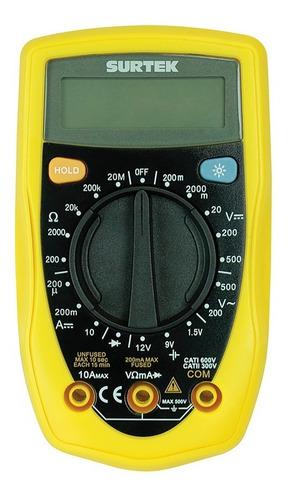 multímetro compacto 500 vcd/500 vca rango manual