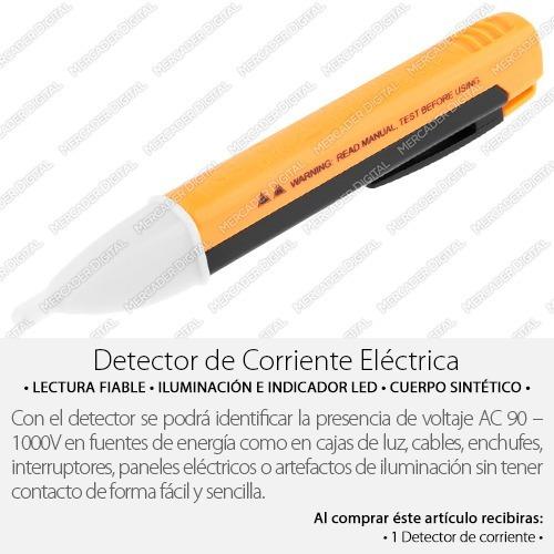 multímetro detector de voltaje 90 ac probador de corriente