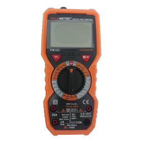 Multimetro Digital - Peak Meter Pm18c