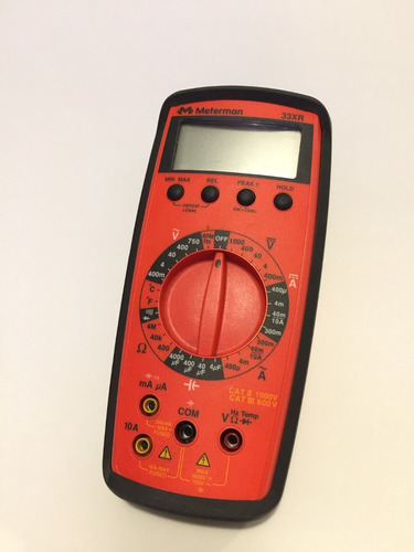 multimetro digital amprobe 33xr-a ac/dc temperatura pc