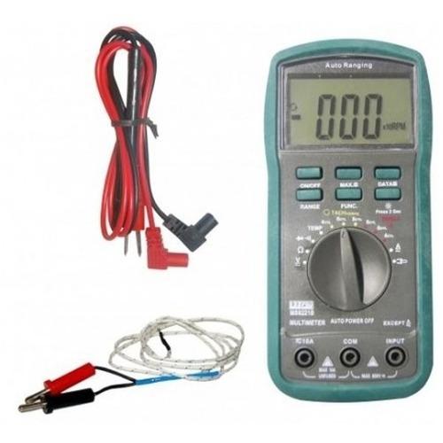 multímetro digital automotivo auto range ms8221b