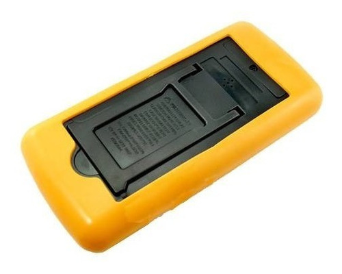 multimetro digital aviso sonoro leitor lcd + capa dt-9205a