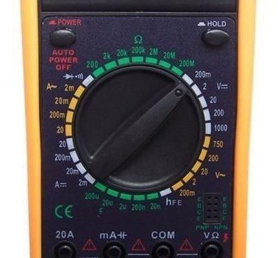 multímetro digital com capacímetro e beep garantia