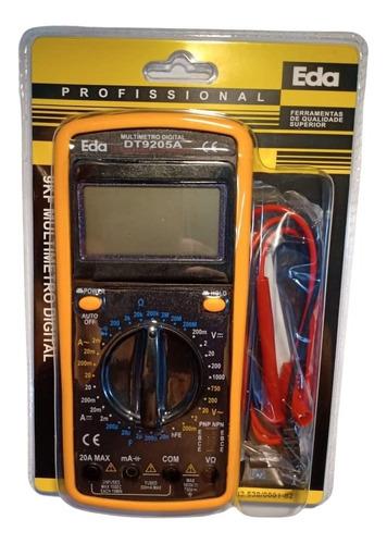 multímetro digital com função capacímetro e continuidade