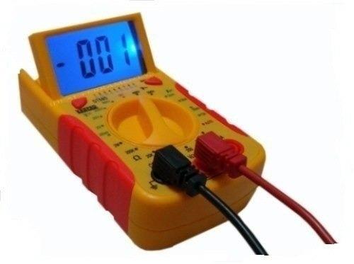 multímetro digital com teste de rede dt68d rj45 rj11