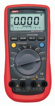 multimetro digital con interfaz uni-t ut61c