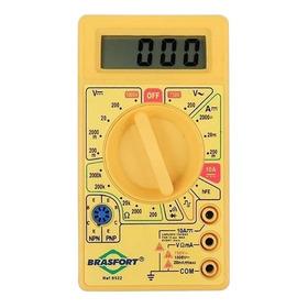 Multímetro Digital Dt830b Portátil + Bateria Grátis