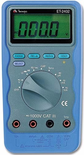 multimetro digital  et-2402  minipa novo oferta