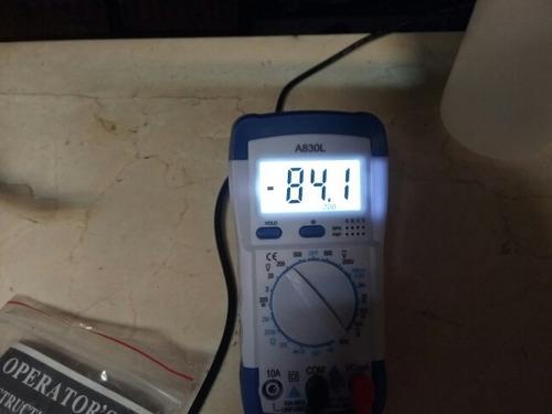multimetro digital luz fondo voltimetro amperimetro tester