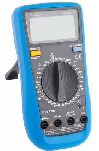 multimetro digital profissional catiii - minipa - et-2042e
