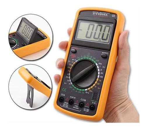 multímetro digital profissional com beep eda-9kf
