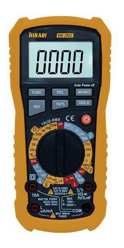 multimetro digital profissional hikari hm 2082