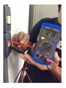 multímetro digital profissional md-180l exbom iluminado beep