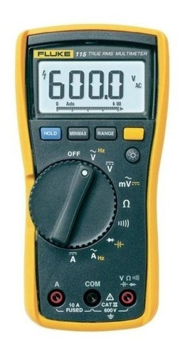 multímetro digital true- rms compacto fluke 115