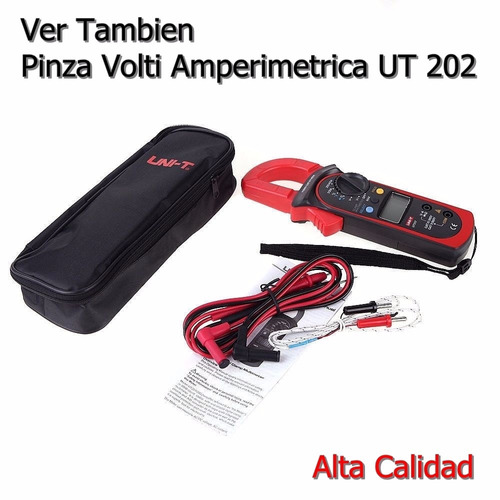 multímetro digital ut-107 automotriz multipropósito calidad