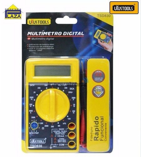 multimetro digital uyustools tsd830