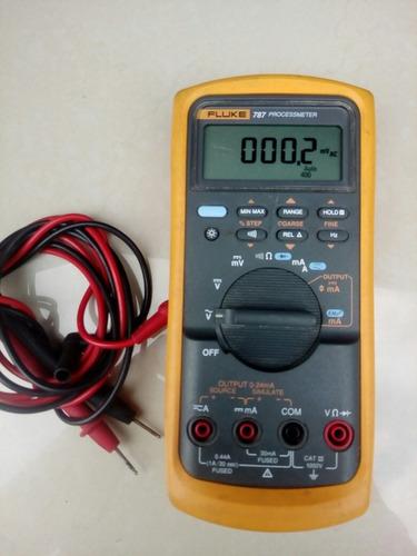 multimetro digital y calibrador - fluke 787