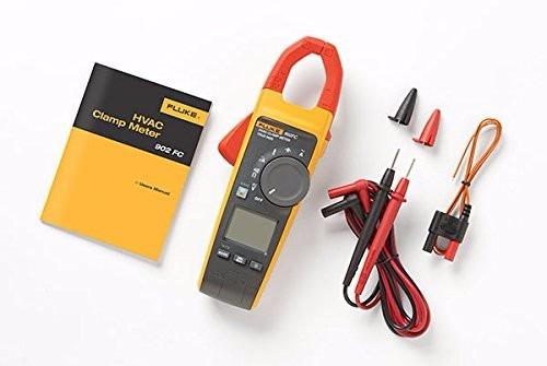 Fluke 902 True Rms Hvac Clamp Meter : Multimetro gancho fluke fc hvac true rms clamp meter