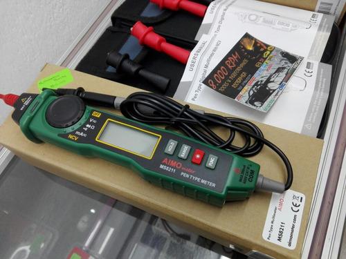 multimetro punta logica mide sin pelar cables