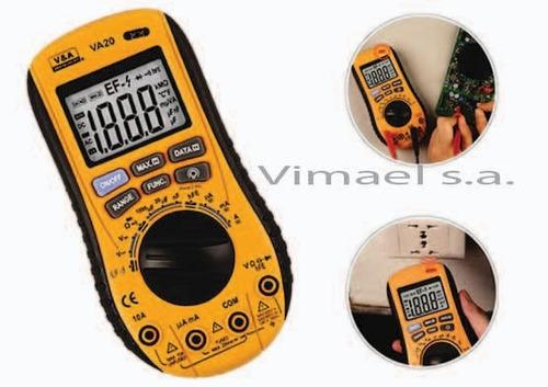 multimetro sin contacto marca va modelo va20c