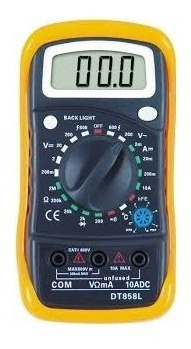 multimetro + temperatura termopar beep e iluminaçao completo