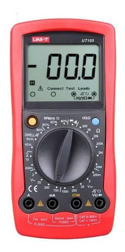 multimetro tester automotriz automotor uni-t ut105 rpm