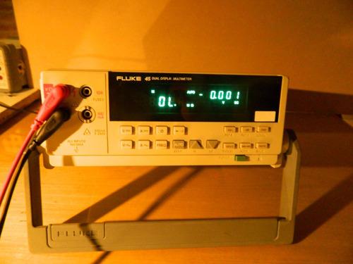 multimetro tester multimeter fluke 45