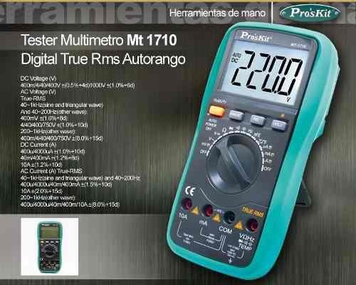 Proskit Digital Mult/ímetro MT de 1710