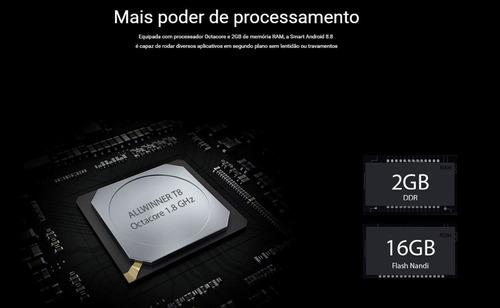 multimidia honda hrv 16 17 18 19 20 android tv aikon atom