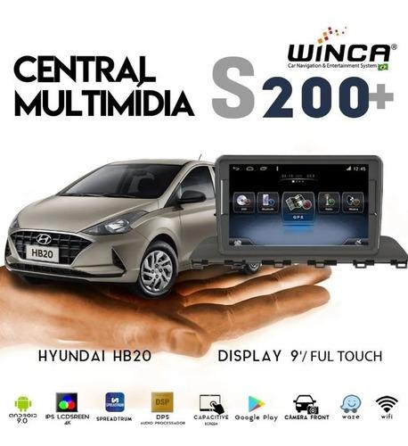 multimidia hyundai hb20 novo 2020 4k tv full cam frontal