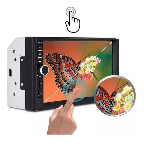 multimidia tela 7 lcd  touch screen audio e video 7012b