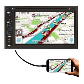 Multimidia Univ Dvd Dazz Dz52838 Tela 7´ Bt Espelha Android