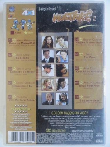 multiokê - gospel 1 - karaokê - line records