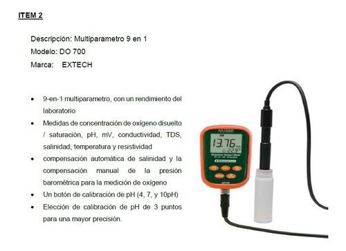 multiparametro extech do-700 9 en 1