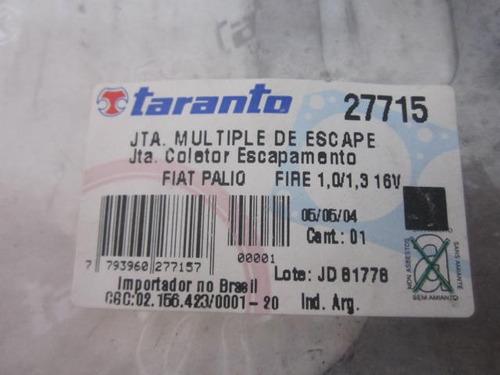 multiple de escape fire palio (10v)