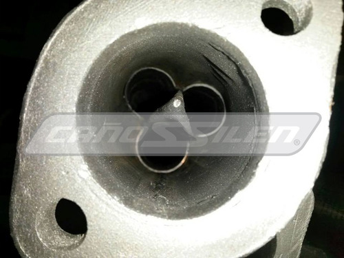 multiple ford falcon en acero inox cañossilen punta diamante