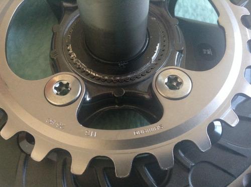 multiplicación shimano xt m8000 36/26 175mm sin eje de cent