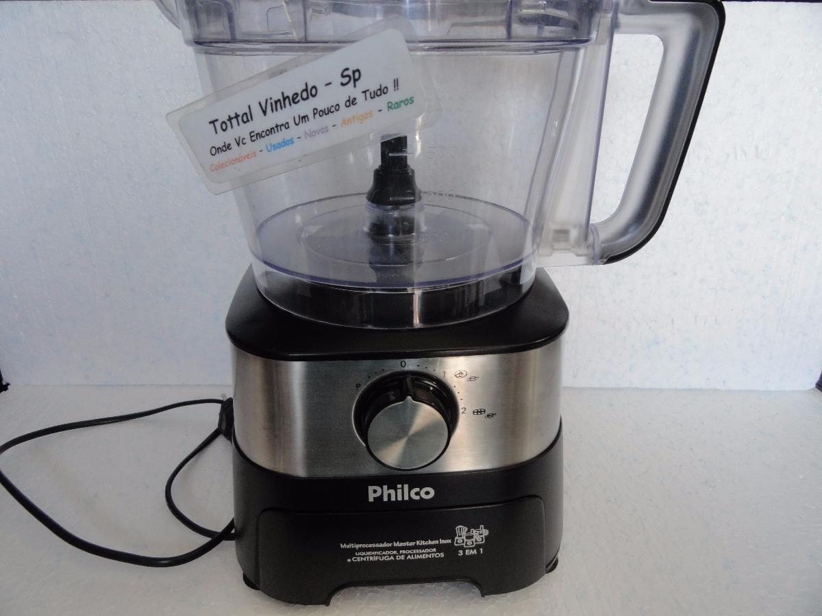 ba21417ef multiprocessador philco master kitchen inox 220v. Carregando zoom.