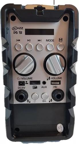 multireproductor portátil kazz ds13 bluetooth 30w cuotas sin interes